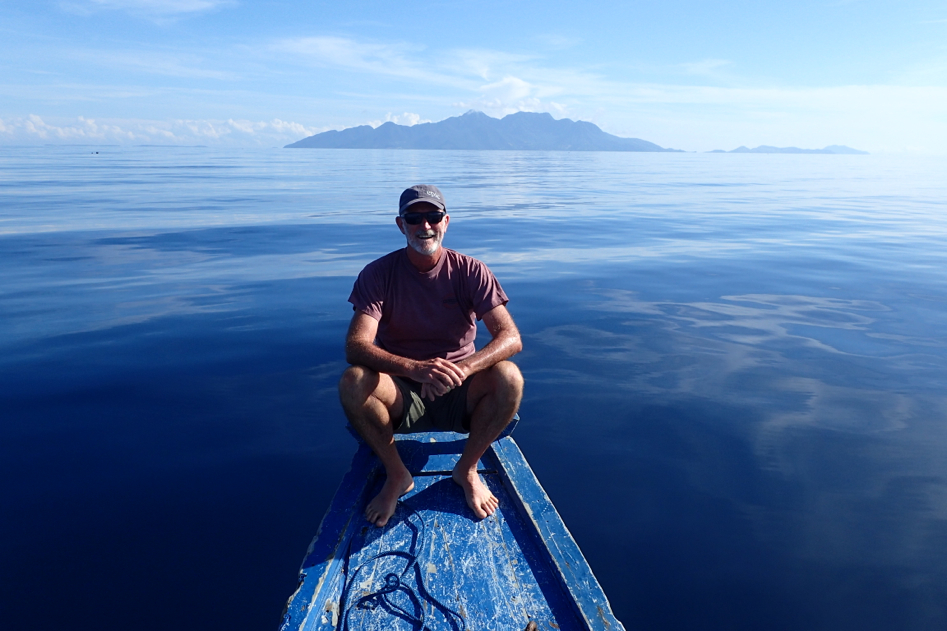 Pedro in the Indonesian islands of Flores and Komodo - epic diving in Indonesia