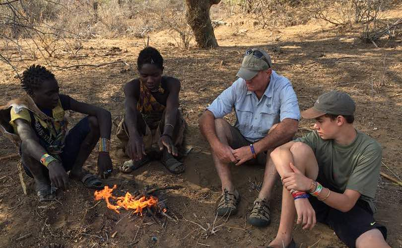 An epic Father and son African bush adventure