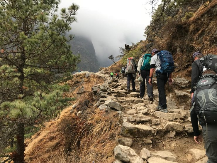 Route to Namche - Epic Everest Update 3
