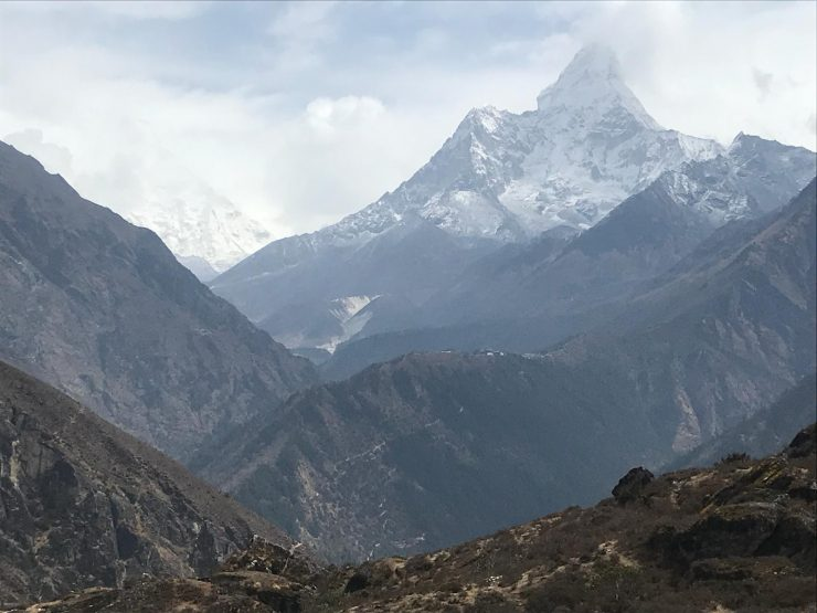 Day 4 Everest Base Camp trek - view of Ama Dablam