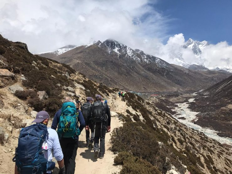 Everest update 5 - Namche to Deboche
