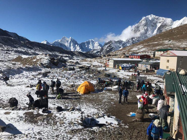 Gorak shep camp - Epic Everest Base Camp Trek