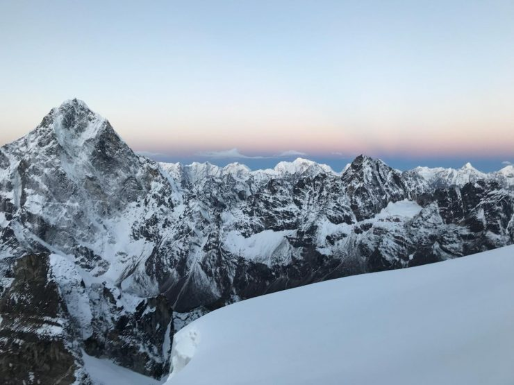 Epic views from Lobuche High Camp - Everest Expedition 2018