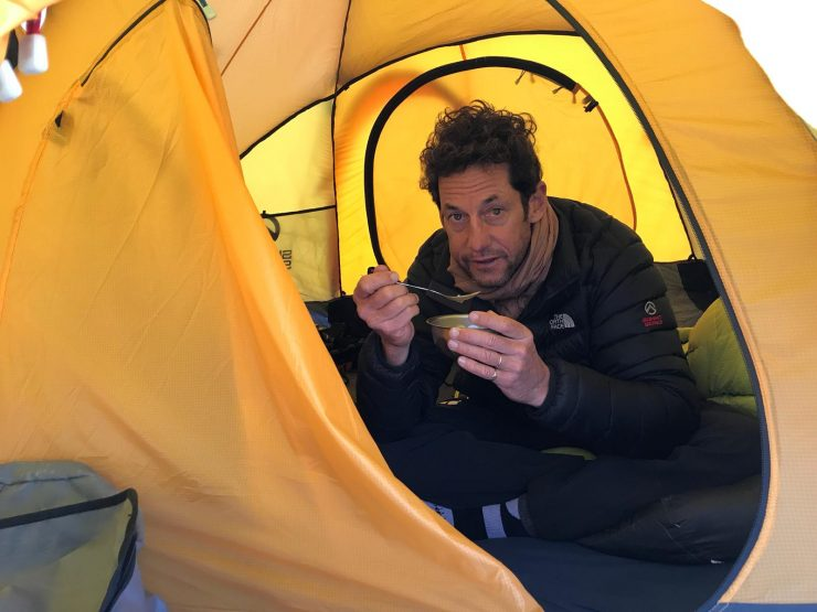 climbing Lobuche - High Camp - Epic Everest 2018