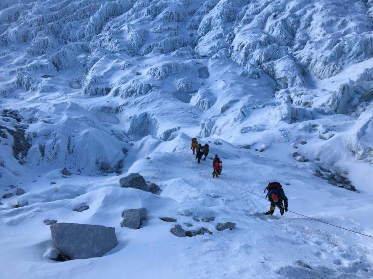 Khumbu Icefall - Epic Everest Expedition 2018