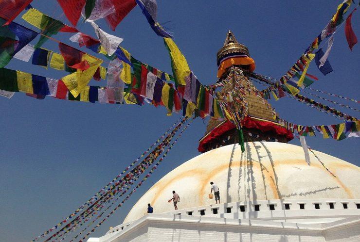 Prayer flags in Kathmandu - Epic Nepal