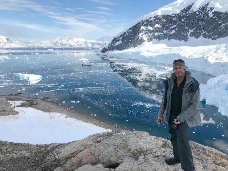 Brad in Antarctica 2018