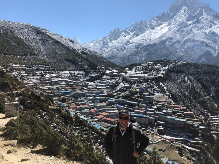 Pre-summit waiting game and rest days - back in Namche