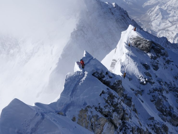 Journey to the summit - Brad Horn and the Everest team have summited Everest.