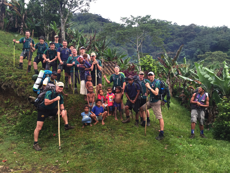 Kokoda Track father and son group - Epic Papua New Guinea