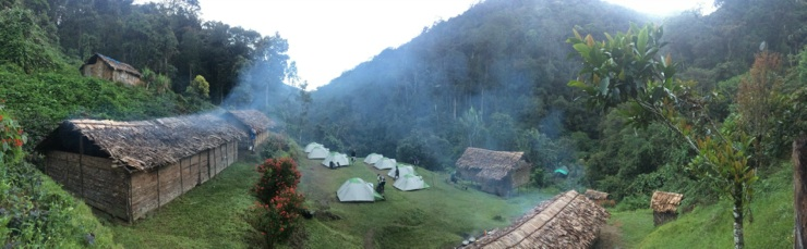 Kokoda village panorama - Epic Papua New Guinea