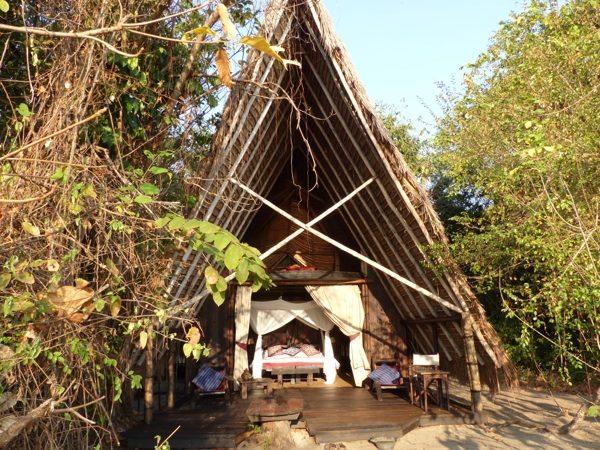 Mahale chimp trekking - Greystoke hut, African safari adventure