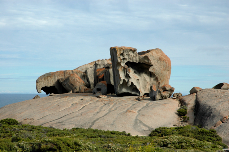 Rock formations, Kangaroo Island. South Australia