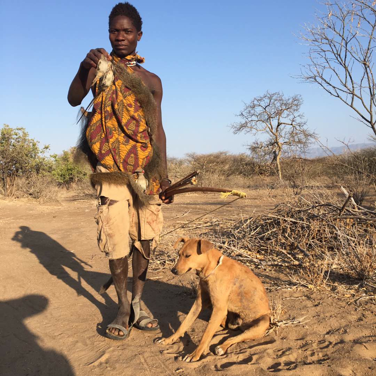 father and son african bush adventure