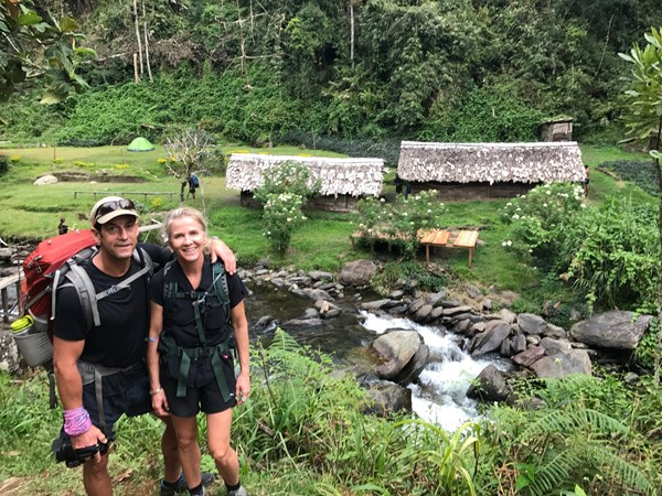 Brad and Annie walking the Kokoda Track in Papua New Guinea - Epic 2017 update