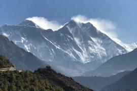 Climbing Everest 2018