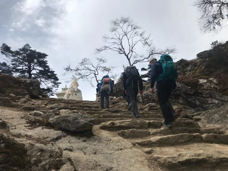 Day 4 Trekking uphill - Everest Base camp trek