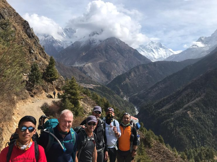 Views of Everest - Day 5 Everest Bas Camp trek 2018