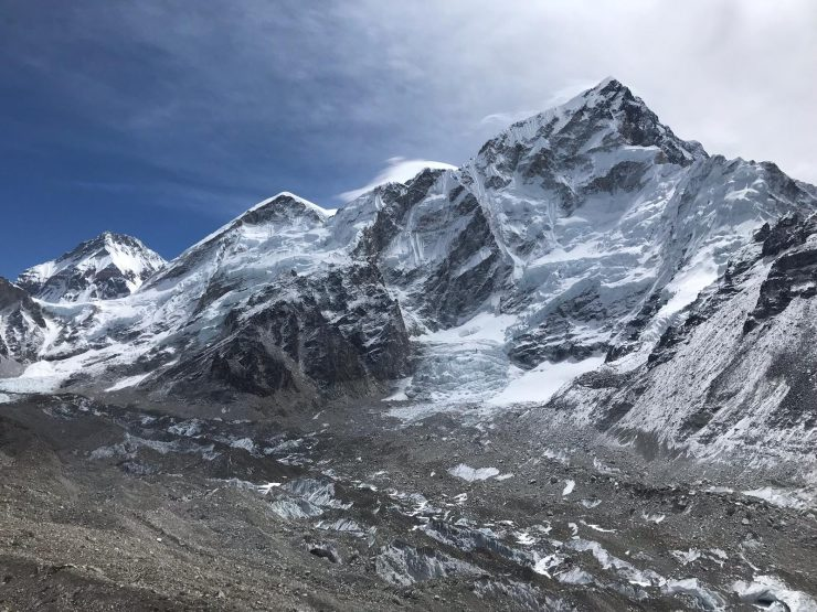 Everest Base Camp Trek -update 9 Gorak shep mountain views