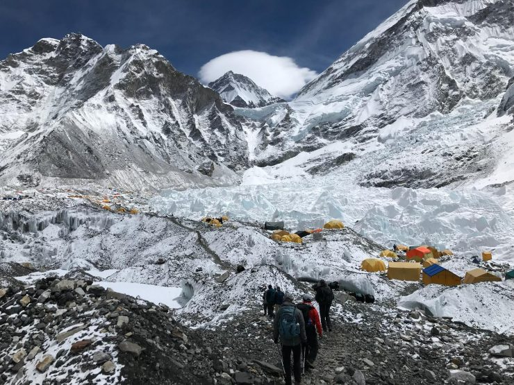 Everest Base Camp arrival and climbing Kala Patthar
