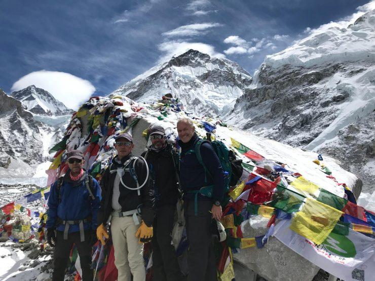 Trekking Kala Patthar and Everest Base Camp arrival