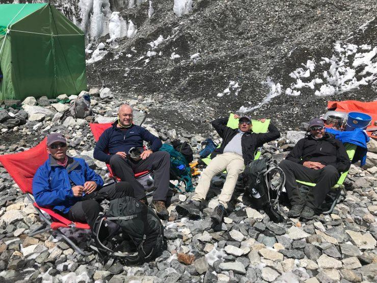 Everest Base Camp arrival Day 10
