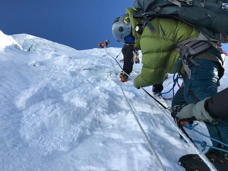 climbing Lobuche - Epic Everest Expedition 2018