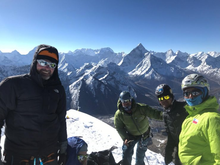 View from Lobuche - Epic Everest Expedition 2018