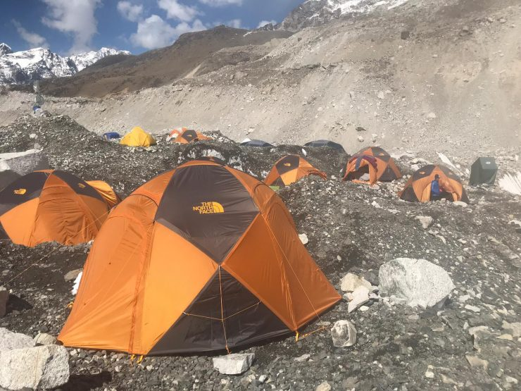 Everest Update 15 Camp 1 & Everest Base Camp