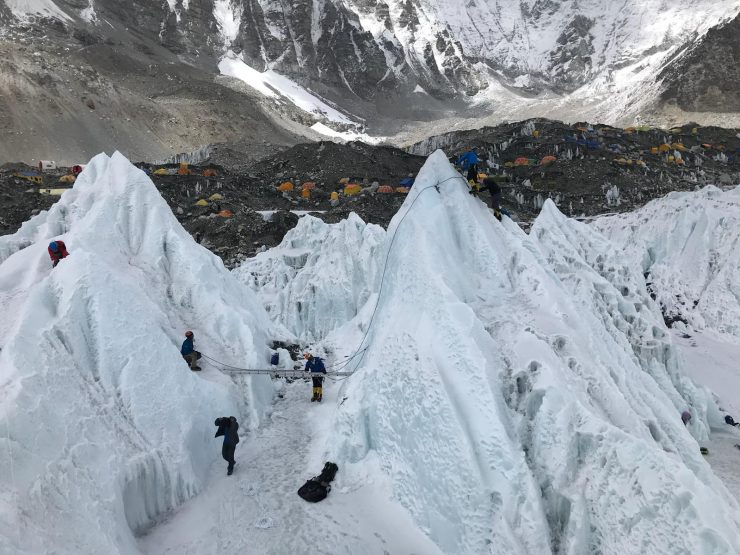 Everest Base Camp - Everest ice school