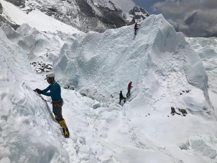 Everest Ice school - Everest base Camp