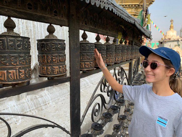 Ella in Kathmandu - EBC Trek 2019