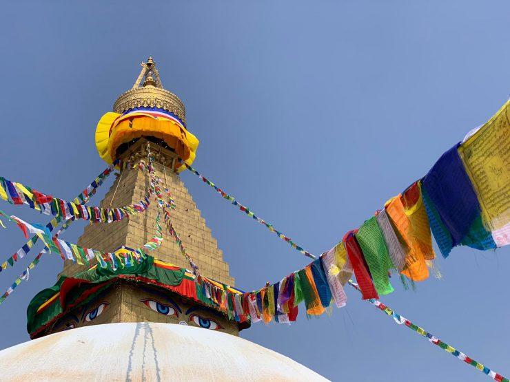 Kathmandu temple EBC Trek 2019
