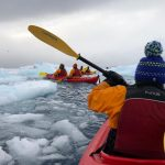 Kayaking in Antarctica 2019
