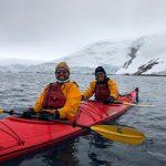 Happiness is kayaking in Antarctica 2019