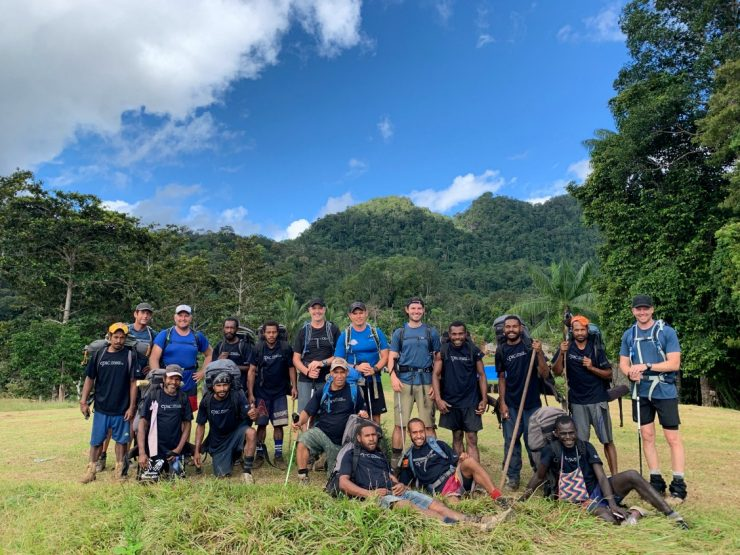 Irobaiwa Ridge Group photo - Kokoda Track Epic PNG 2019