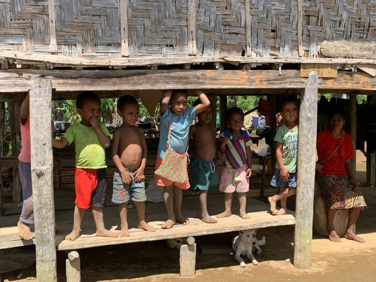 Traditional villages on the Kokoda Track Epic PNG 2019