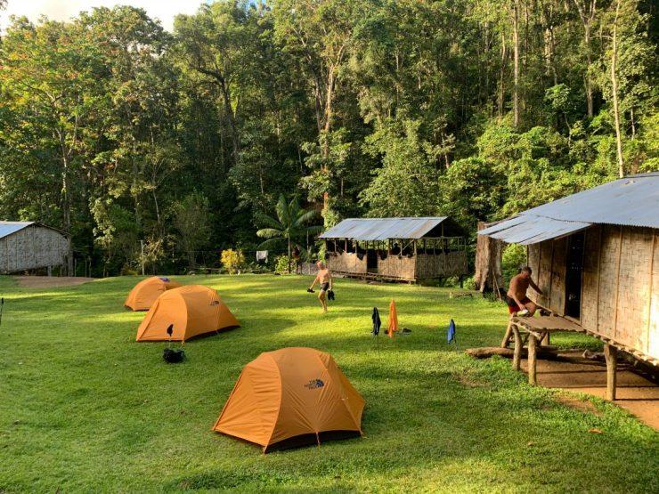 Va-Ule Campsite Kokoda Track Epic PNG