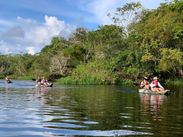 Amazon kayaking - epic expedition cruising