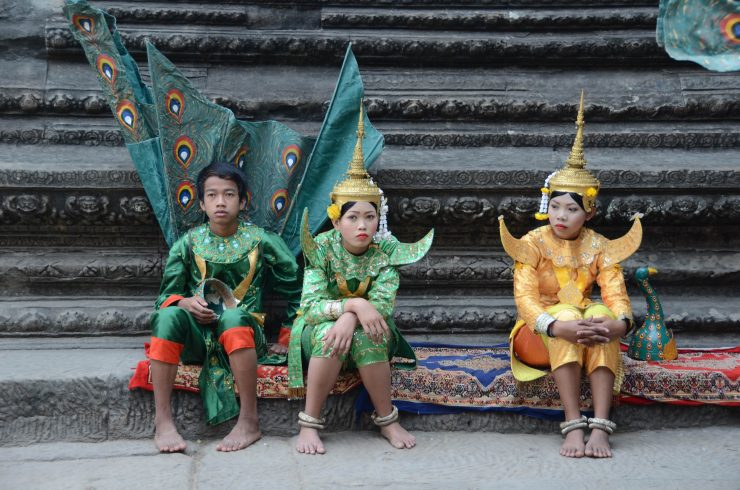 Angkor wat dancers Cambodia - Epic South East Asia