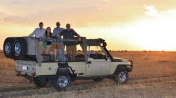 Sutherland Family - African Safari 2017