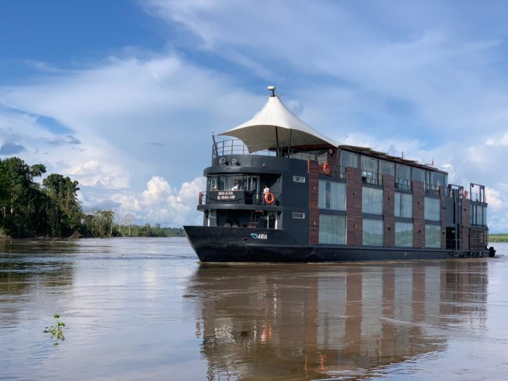 Expedition luxury Amazon cruising Aria Epic South America