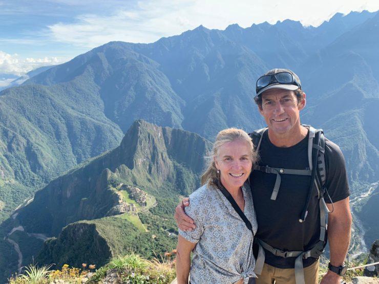 Brad and Annie - Machu Picchu Epic Peru