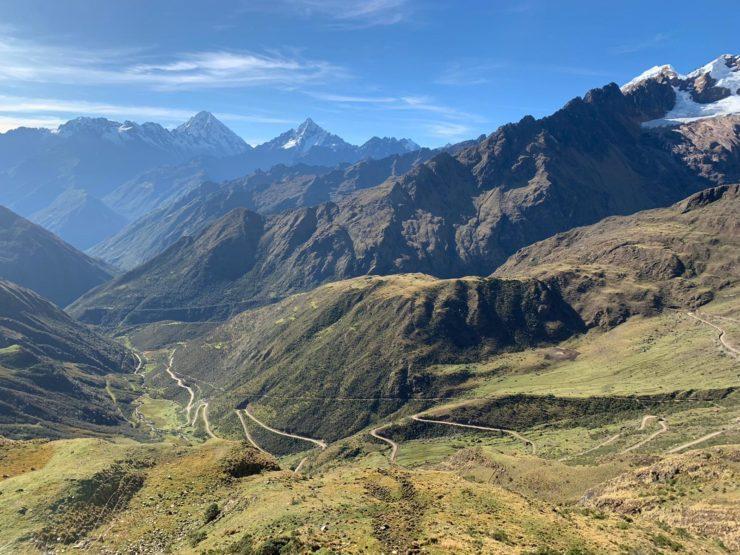2400 vertical metres Salkantay Trek Epic Peru