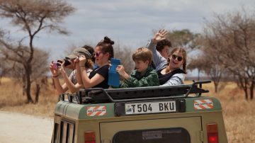 Family Safari to Kenya + Tanzania